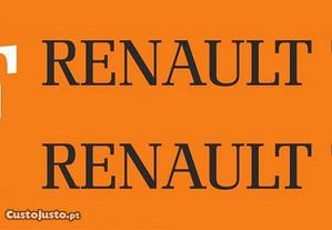 Kit autocolantes trator Renault
