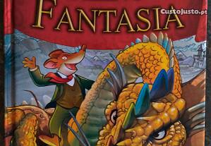 Livro de Geronimo Stilton No Reino Da Fantasia