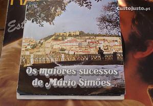 Disco Vinil 45rpm- Mário Simões - Fados