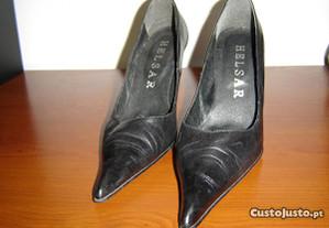 sapatos de salto alto helsar nº 37