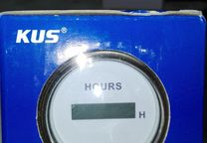 Manómetro conta horas digital KUS