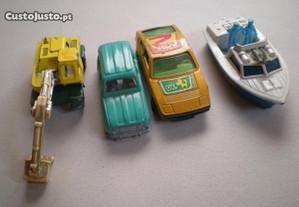 Miniaturas Matchbox Corgi antigas carros