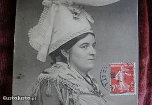 P201 Postal En Normandie. A. D. nº 32 de 1908