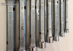 Conjunto de 8 chaves de bocas Palmera