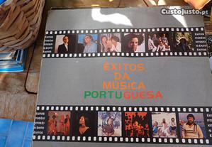 Disco LP 33rpm - Vinil - Êxitos da Música Portugue