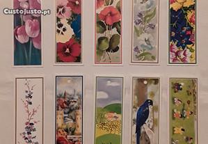 10 Marcadores de livros/bookmarks