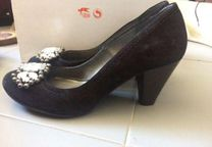 Sapatos pretos senhora AXN (tam 36)
