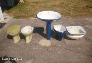 peças sanitárias individuais