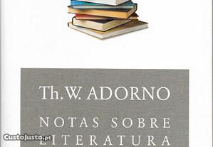 Adorno - Notas sobre Literatura