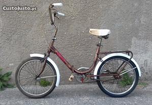Bicicleta dobravel roda 20 esmaltina
