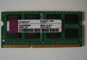 Modulo Ram Kingston ddr3 2GB 2rx8 PC3-10600S