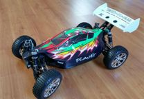 Carro RC Buggy HSP Planet brushless 1:8