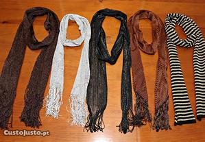 Echarpes de Senhora sem uso