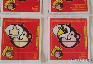 Cromos pastilhas Gorila