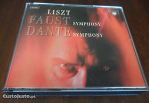Liszt - Faust Symphony e Dante Symphony - CD Duplo