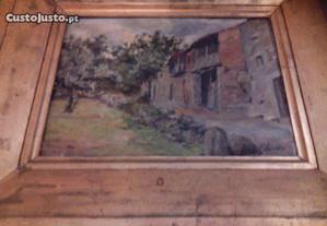 Óleo sobre tela autoria de António Saúde 1903