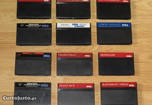 Master System: Vários Jogos apenas cartucho