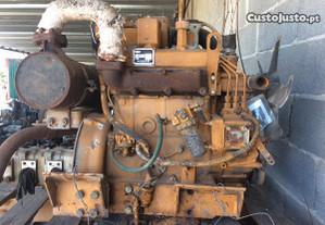 Trator-Motor mini escavadora Komatsu