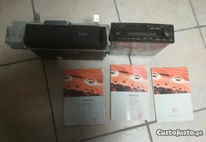 Auto rádio Lena com leitor de cd