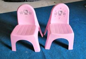 Cadeiras kitty