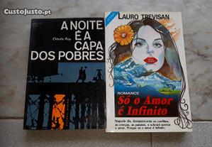 Obras de Claude Ray e Lauro Trevisan