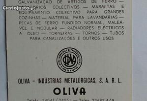 Calendario de bolso, Oliva 1982