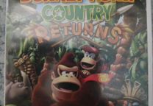 Jogo Nintendo Wii Wii u donkey Kong returns