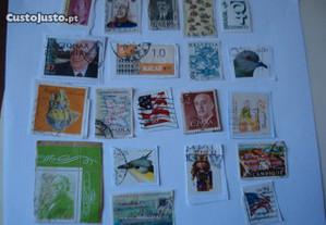 Selos de Diversos Países