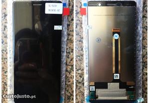 Ecrã / Display + touch para Nokia 7 Plus - NOVO