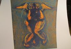 Serigrafia de João Ribeiro 11/100 (1999)