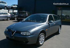 Alfa Romeo 156 Carrinha JTD 1.9 Diesel 2003 peças