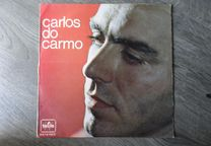 Disco vinil LP - Carlos do Carmo