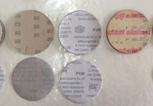 Conjunto de discos abrasivos