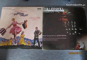 Vinil filmes - Musica no coração/Rolerball