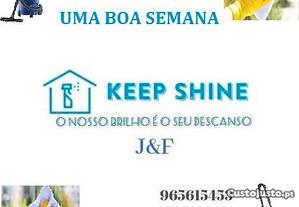 Keep Shine J&FLimpezas Profissionais