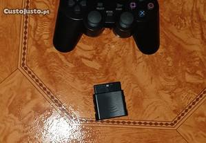 comando sem fios para consola playstation 2 / ps2