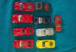 Miniaturas Carros Ferrari
