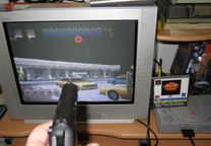 Playstation 1: Die hard Trilogy + Light Gun