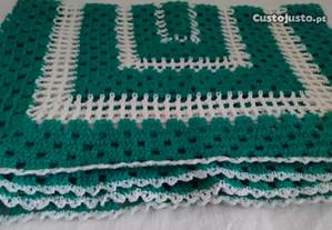 Conjuntos de naperons em crochet