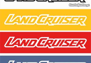Autocolantes Toyota Land Cruiser
