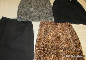 4 saias de inverno - tamanho S