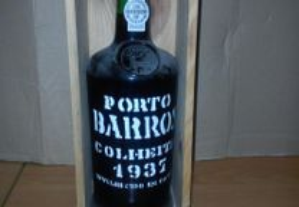 Vinho Porto Barros 1937