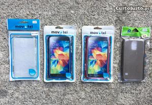 Capa de silicone para Samsung S5 / S5 Neo - Novas