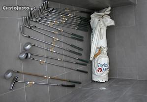 Conjunto de 18 tacos de Golf com saco transporte