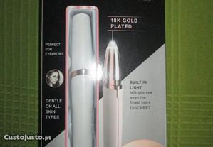 caneta depiladora de sobrancelha nova
