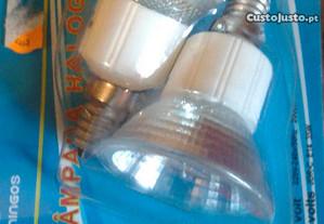 lampadas, led casquilho ,fino, novas