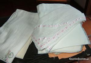 Fraldas em algodão