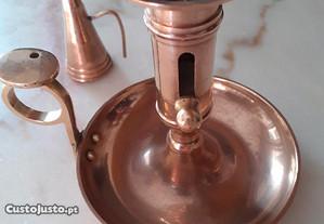 Candelabro em bronze