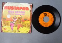 Disco vinil single - Mustapha - Bob Azzam et son