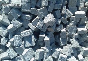 Patelas De Cubos Granito Cinza 10 X10 X 5